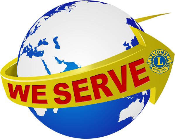 Logotipo da Semana Nós Servimos do Lions